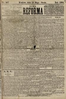 Nowa Reforma. 1886, nr107