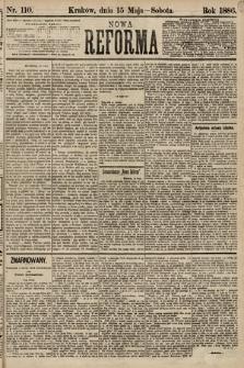 Nowa Reforma. 1886, nr110