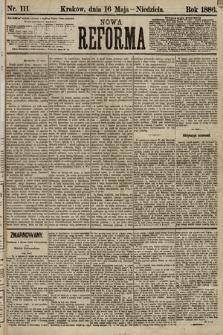 Nowa Reforma. 1886, nr111