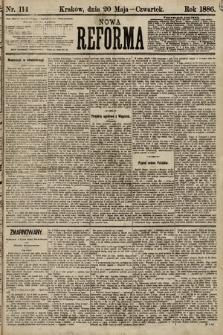 Nowa Reforma. 1886, nr114 [skonfiskowany]