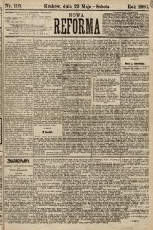 Nowa Reforma. 1886, nr116