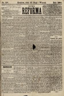 Nowa Reforma. 1886, nr118