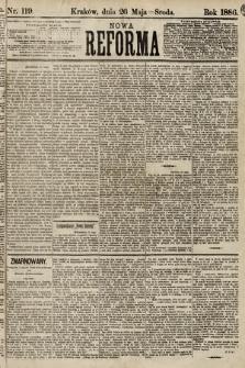 Nowa Reforma. 1886, nr119