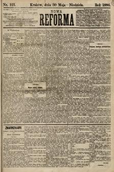 Nowa Reforma. 1886, nr123 [skonfiskowany]