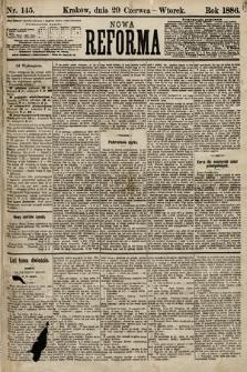 Nowa Reforma. 1886, nr145