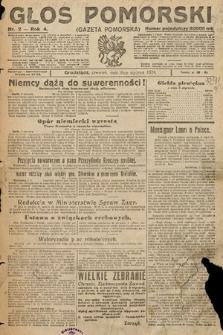 Głos Pomorski. 1924, nr2