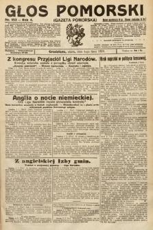 Głos Pomorski. 1924, nr153