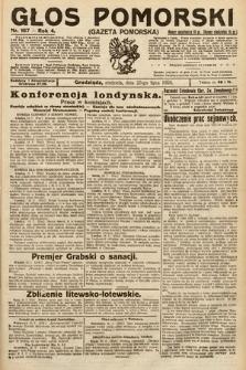 Głos Pomorski. 1924, nr167
