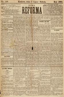 Nowa Reforma. 1886, nr148
