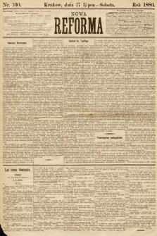 Nowa Reforma. 1886, nr160
