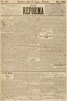 Nowa Reforma. 1886, nr168