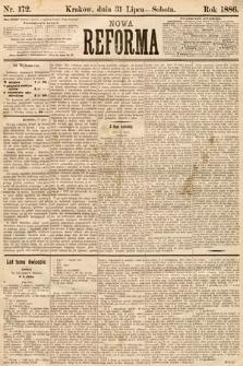 Nowa Reforma. 1886, nr172