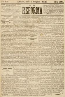 Nowa Reforma. 1886, nr175