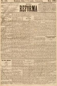 Nowa Reforma. 1886, nr176