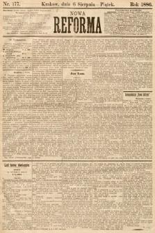 Nowa Reforma. 1886, nr177