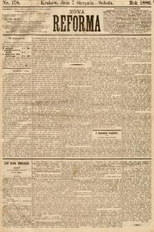 Nowa Reforma. 1886, nr178