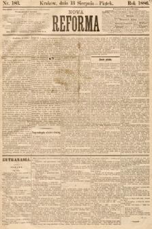 Nowa Reforma. 1886, nr183