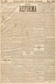 Nowa Reforma. 1886, nr194