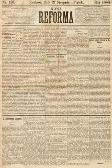 Nowa Reforma. 1886, nr195