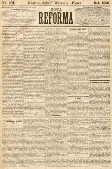 Nowa Reforma. 1886, nr201