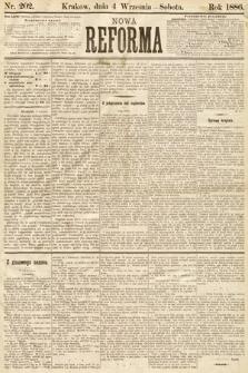 Nowa Reforma. 1886, nr202