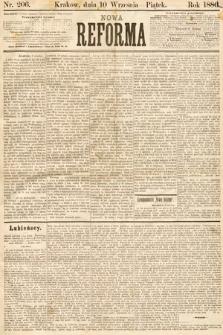Nowa Reforma. 1886, nr206