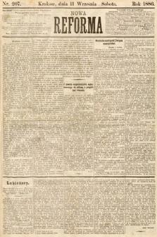 Nowa Reforma. 1886, nr207