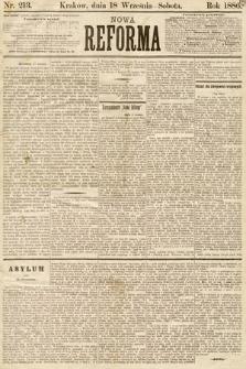 Nowa Reforma. 1886, nr213