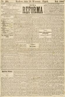 Nowa Reforma. 1886, nr218