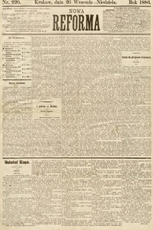 Nowa Reforma. 1886, nr220
