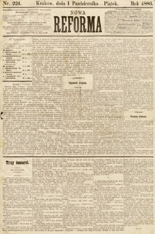 Nowa Reforma. 1886, nr224