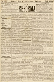 Nowa Reforma. 1886, nr226