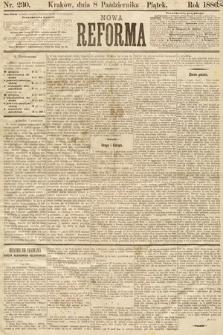 Nowa Reforma. 1886, nr230