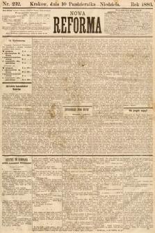 Nowa Reforma. 1886, nr232