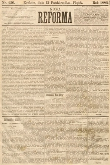 Nowa Reforma. 1886, nr236