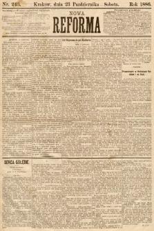 Nowa Reforma. 1886, nr243