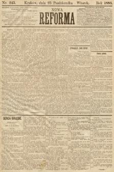 Nowa Reforma. 1886, nr245