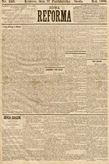 Nowa Reforma. 1886, nr246