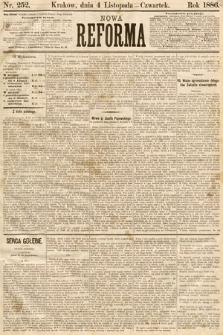 Nowa Reforma. 1886, nr252