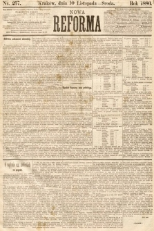 Nowa Reforma. 1886, nr257
