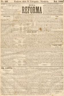 Nowa Reforma. 1886, nr261