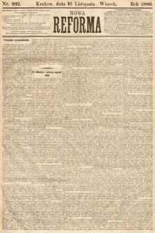 Nowa Reforma. 1886, nr262