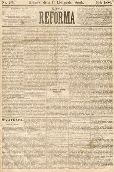 Nowa Reforma. 1886, nr263
