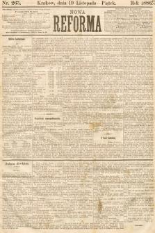 Nowa Reforma. 1886, nr265