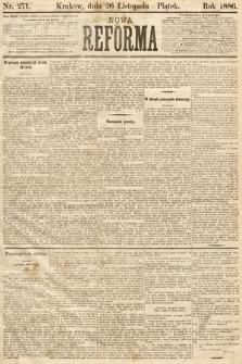 Nowa Reforma. 1886, nr271