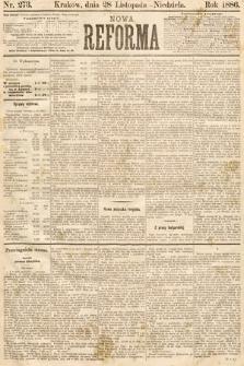 Nowa Reforma. 1886, nr273