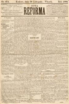 Nowa Reforma. 1886, nr274
