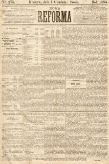 Nowa Reforma. 1886, nr275