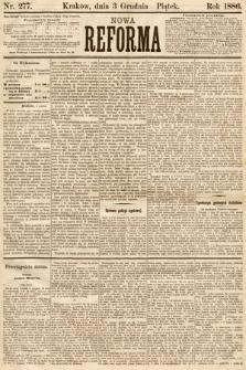 Nowa Reforma. 1886, nr277