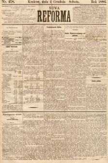 Nowa Reforma. 1886, nr278